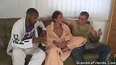 She agrees for 3some with two strangers