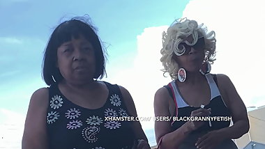 How Many Of These Black Grannies Did I Upskirt
