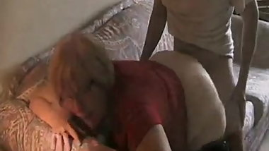 Granny With A Big Ass Gets Fucked