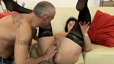 Very Sweet Grannies Have Sex 01