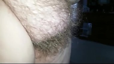 Hairy Mature BBW Pussy Close Up