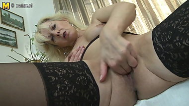 Super hot granny still needs a good fuck