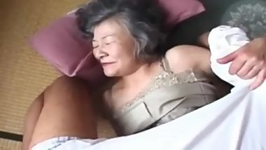 Horry Asian Granny 80 Years Old