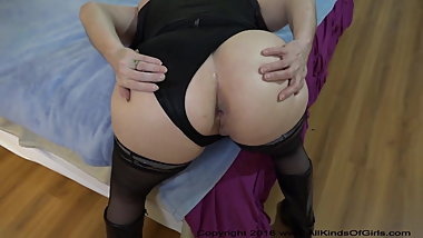 Anal Bubble Butt Mexican Granny Abuse