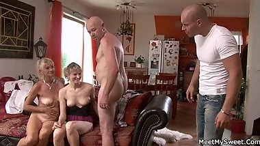 Ops, my BF found me in threesome with his parents