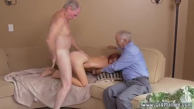 Alyssa's nasty old granny xxx guy fuck his crony's sister