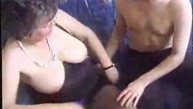 Amateur granny enjoys a young suck and fuck